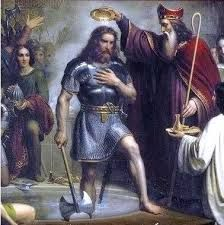(13) 486 – El rey franco Clodoveo derrota a Afranio Siagrio en la batalla de Soissons, acabando así con el último territorio gobernado por los romanos en Occidente. Se inicia el reino franco entre el Loira y el Somme.