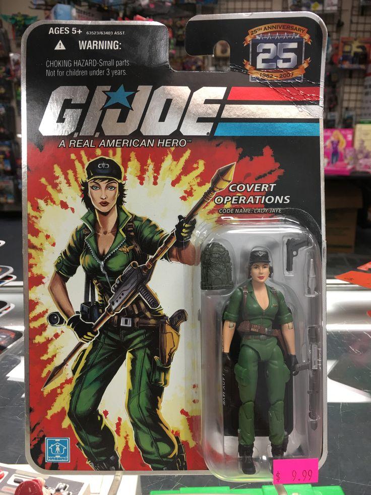 G.I. Joe 25th Anniversary Covert Operations Lady Jaye