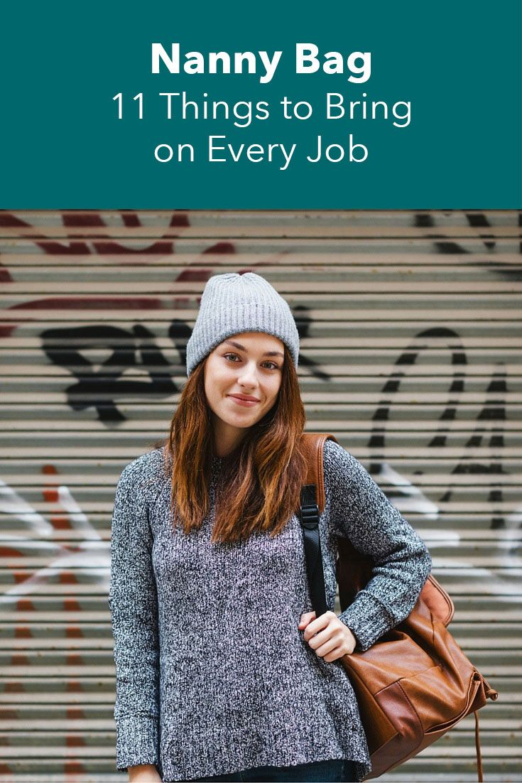 Nanny Bag: 11 Things to Bring on Every Job