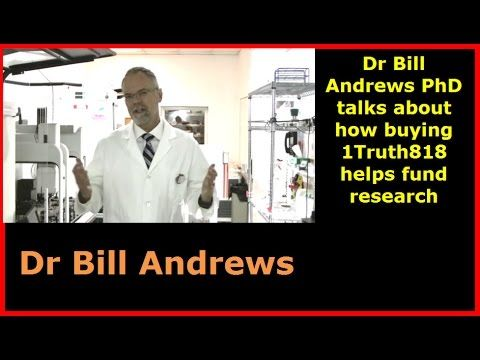 Dr Bill Andrews PhD talks about how buying One Truth 818 helps fund rese...