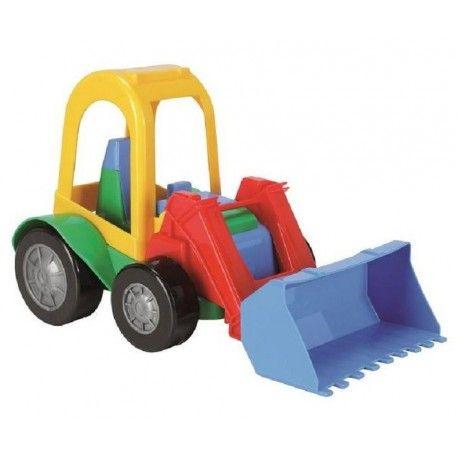 Kolejna zabawka nadająca się i do domu i do zabawy na pisaku:)  Wader 54260 - Traktorek Koparka - Friends on the Move - Zabawka dla dzieci od 1 roku imituje prawdziwy pojazd budowalny dzięki otwieranej kabinie i ruchomej łyżce.   Idealnie dostosowany do małych rączek.  Sprawdźcie sami:)  http://www.niczchin.pl/wader-garaz-tor-auta/2722-wader-54260-traktorek-friends-on-the-move.html  #wader #traktor #koparka #zabawki #niczchin #krakow