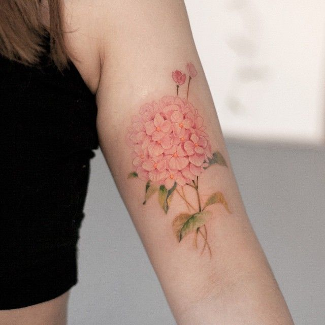 best 25 hydrangea tattoo ideas on pinterest flower back tattoos delicate flower tattoo and. Black Bedroom Furniture Sets. Home Design Ideas