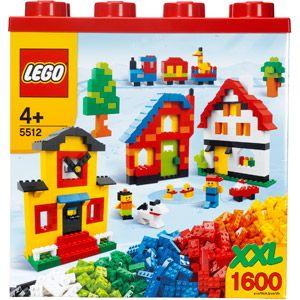 LEGO XXL 1,600 Piece Building Set Box  5512