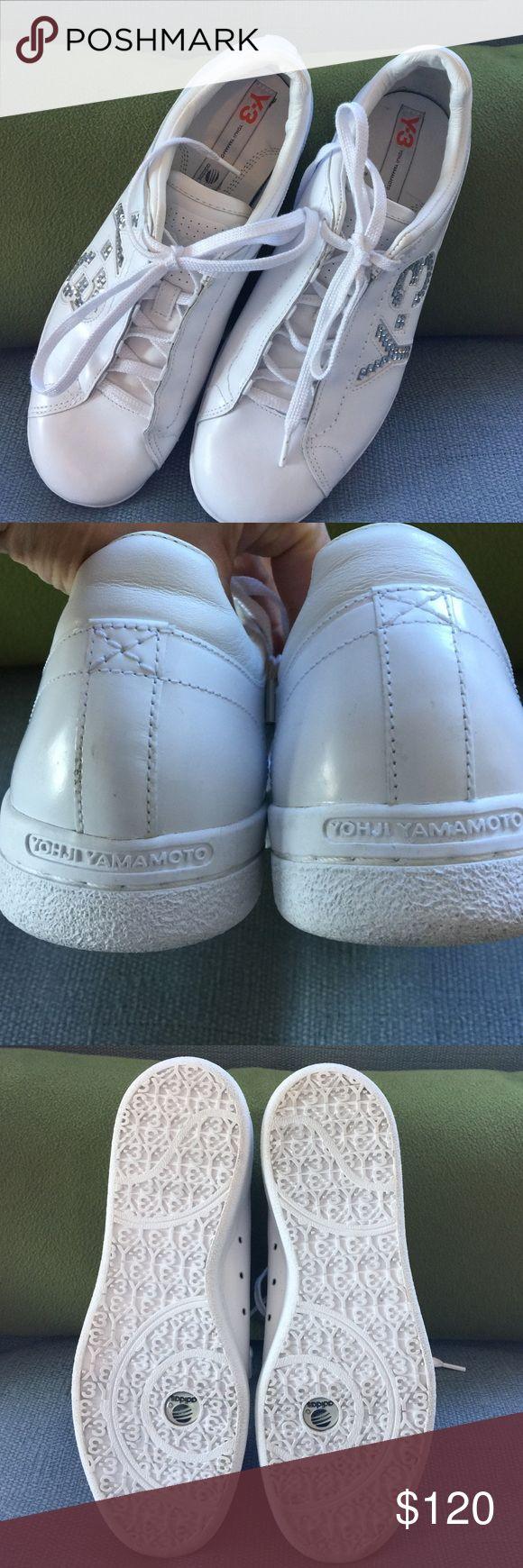 Yohji Yamamoto Y3 Yohji Yamamoto Adidas Sneakers. Size US 6 but runs a little big fits like a 7. Excellent condition. No box Yohji Yamamoto Shoes Sneakers