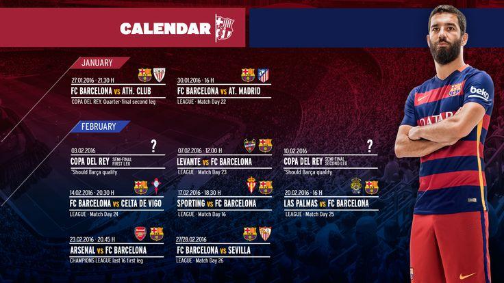 Crunch fixtures approaching for FC Barcelona | FC Barcelona