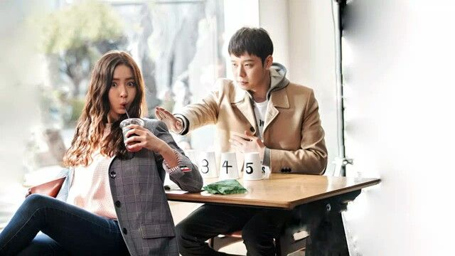 Shin Se Kyung and Park Yoo Chun in the drama The Girl Who Sees Smells
