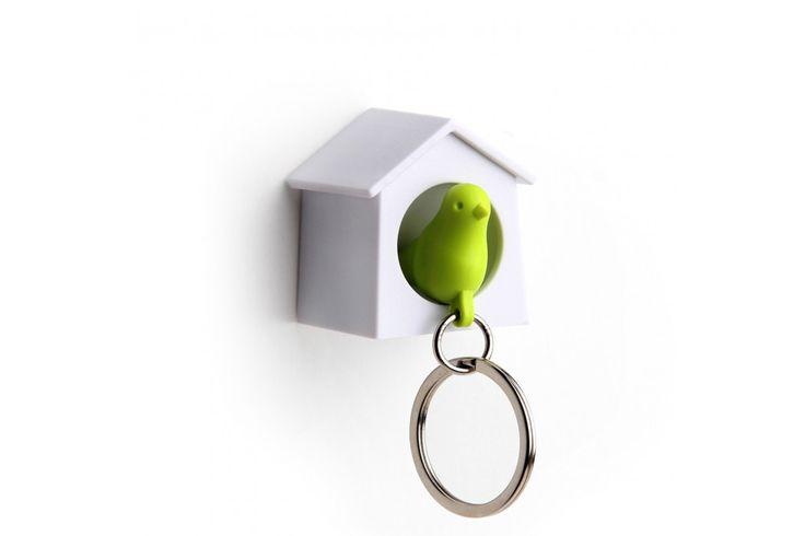 Mini Sparrow Keyring (Qualy) TOP Sinterklaascadeau | #sinterklaas #sinterklaascadeau #sinterklaaskado #top10 #sint #moederdag
