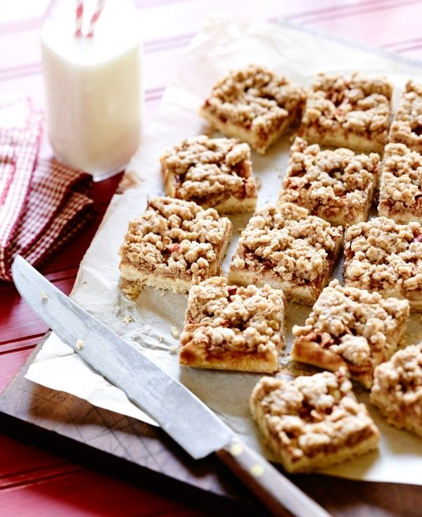 Layered Ontario #Apple-Cream Cheese Squares Recipe from Produce Made Simple