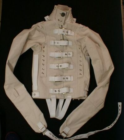 straight jacket...sometimes i feel i need one and not just as part of a halloween costume.