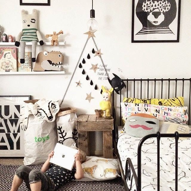 5 of the best black and white kids rooms - ebabee likes