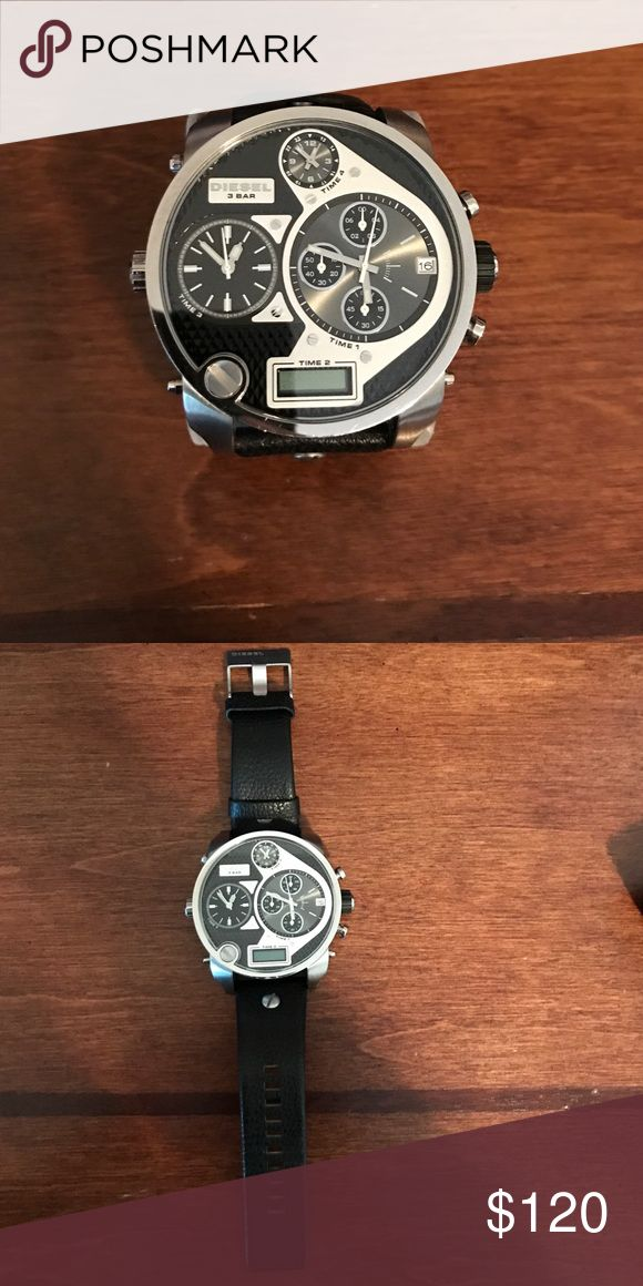 🎈FINAL SALE🎈Diesel Watch DZ-7125 Great oversized watch from diesel. Looks great on your wrist and is bound to be a great conversation piece. #timeless Diesel Accessories Watches