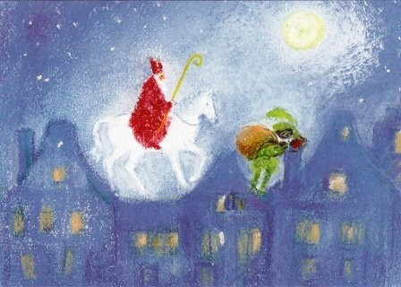 Sinterklaas, 5 december
