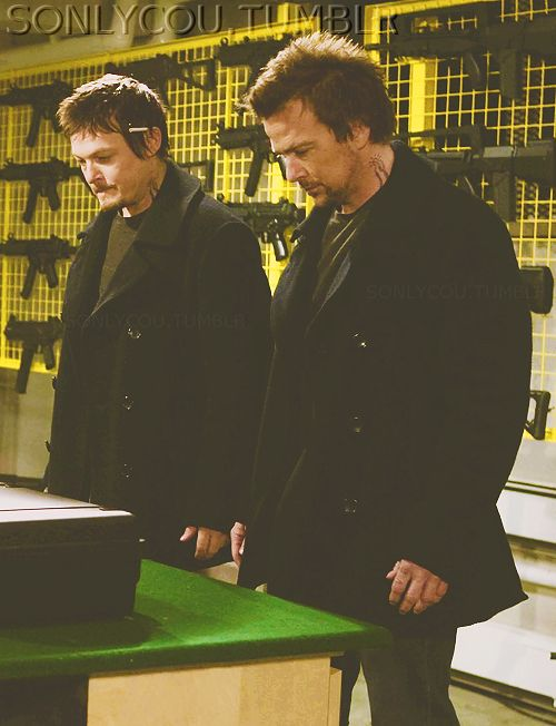Production still from The Boondock Saints II: All Saints Day