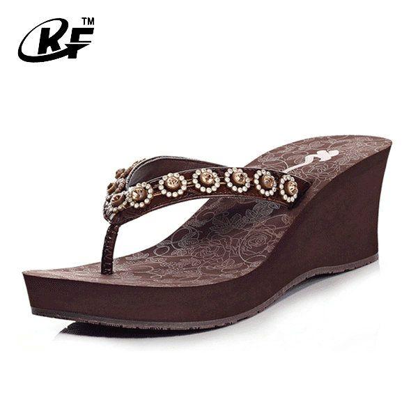 63 best high heel slipper images on pinterest slipper - Ladies bedroom slippers with heel ...