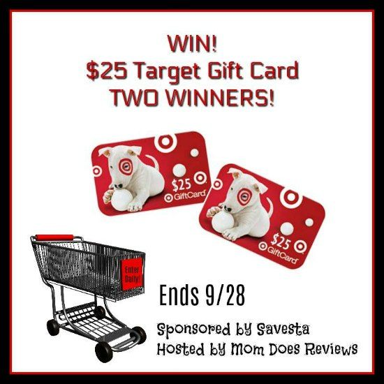 Enter To Win $25 Target Gift Card - 2 Winners! Are you a Target shopper? Who isn't?! Well, be sure to read on to see how you can win one of two Target gift