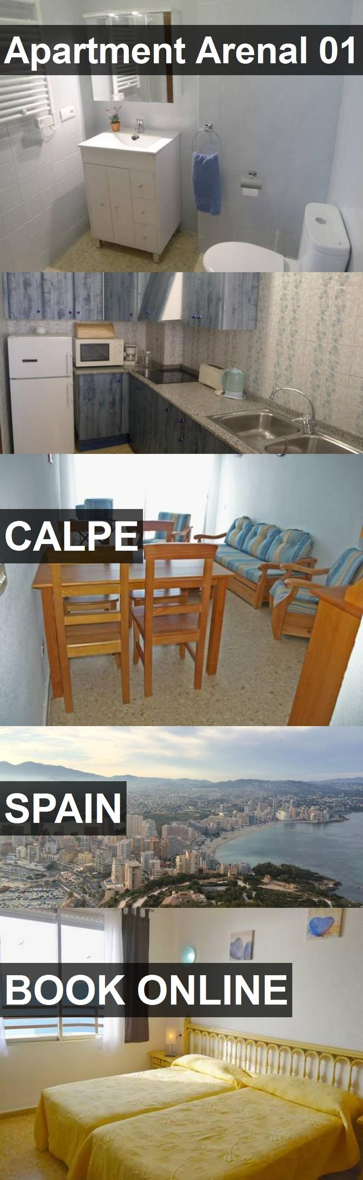 Apartment Arenal 01 in Calpe, Spain. For more information, photos, reviews and best prices please follow the link. #Spain #Calpe #travel #vacation #apartment