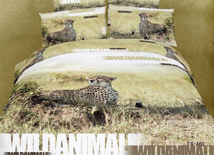 Cheetah Cheetah Print Leopard Print Bedding Set