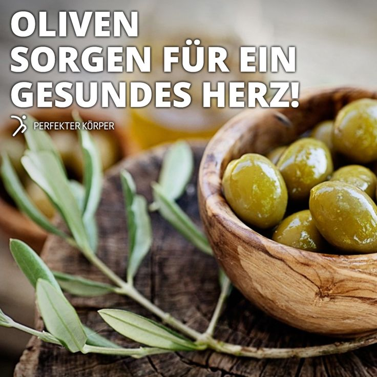 Schönheits- und Gesundheitswunder: Oliven   ✨ Regen den Stoffwechsel an ✨ Senken den Wert des schlechten LDL-Cholesterins und erhöhen das nützliche HDL-Cholesterin ✨ Die Antioxidantien fördern das Herz, senken den Blutzucker und das Krebsrisiko ✨ Der Pflanzenstoff Oleocanthal soll in der Lage sein, die Nervenzellen vor der Alzheimer-Krankheit zu bewahren ✨ Vitamin A und Vitamin E schützen vor vorzeitiger Hautalterung, straffen die Haut und mindern Fältchen