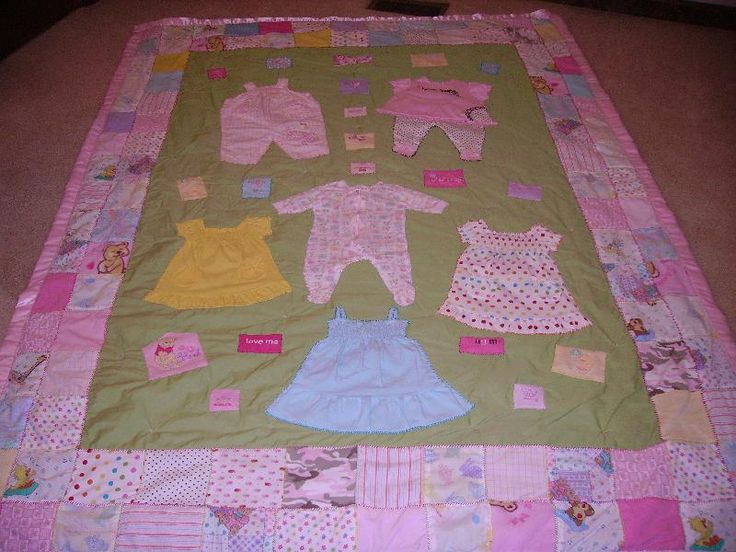 215 Best Baby Clothes Quilts Images On Pinterest Babies