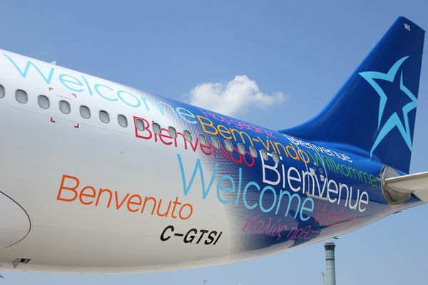 Air Transat : Empennage Airbus A330
