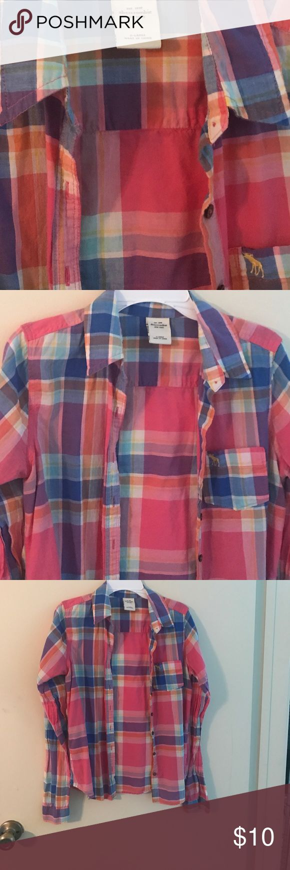 Abercrombie girls Abercrombie preteen girls shirts Abercrombie & Fitch Tops Button Down Shirts