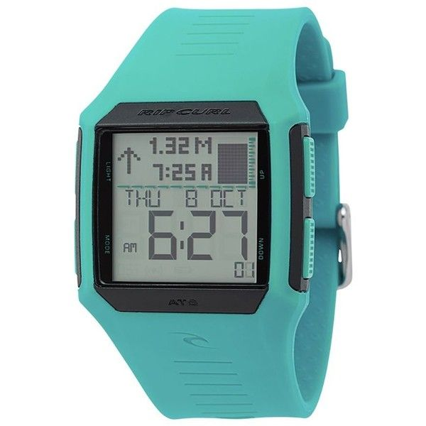 Rip Curl Maui Mini Tide Watch (470 ILS) ❤ liked on Polyvore featuring jewelry, watches, waterproof sport watches, waterproof sports watches, rip curl, bow jewelry and sports jewelry