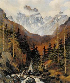 Anton Jasusch (1882 - 1965). Tatry, 1912