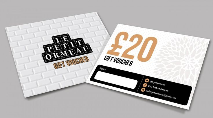 The 136 best graphic design for print by aspect media images on gift voucher for le petit ormeau design print belfast reheart Images