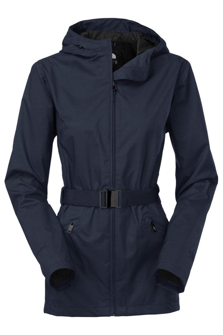 The North Face Women's Ophelia Jacket. Navigate your daily commute with  this waterproof hooded rain
