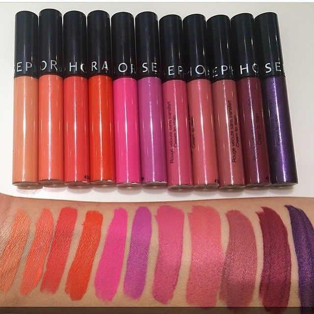 Image Gallery Sephora Lipsticks