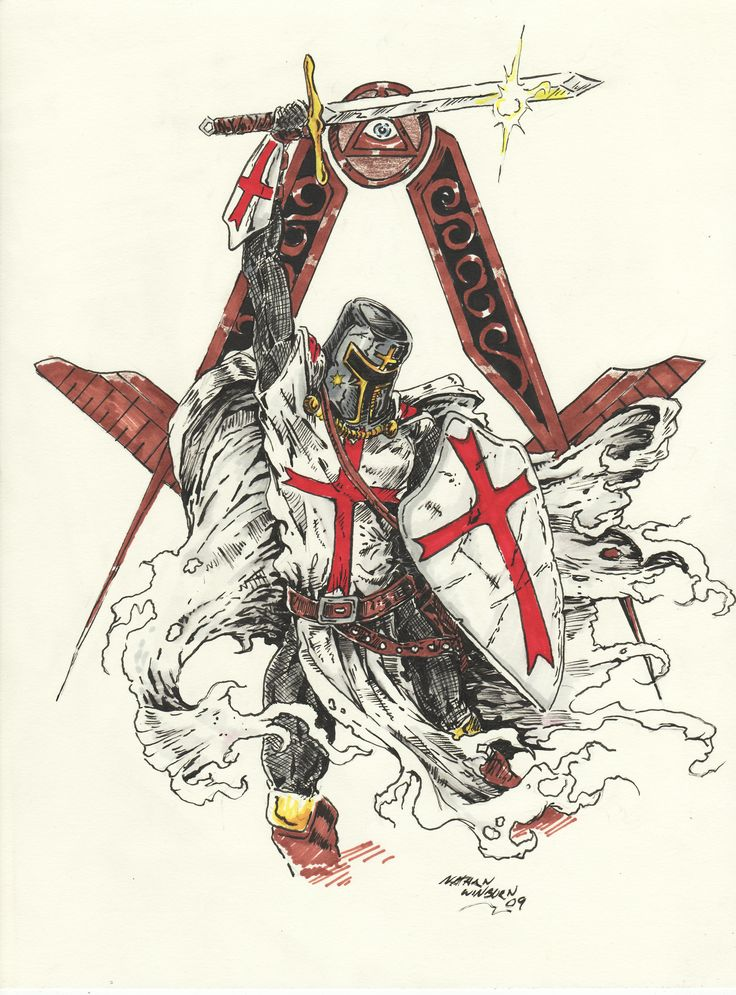 Difference between knights templar and masons