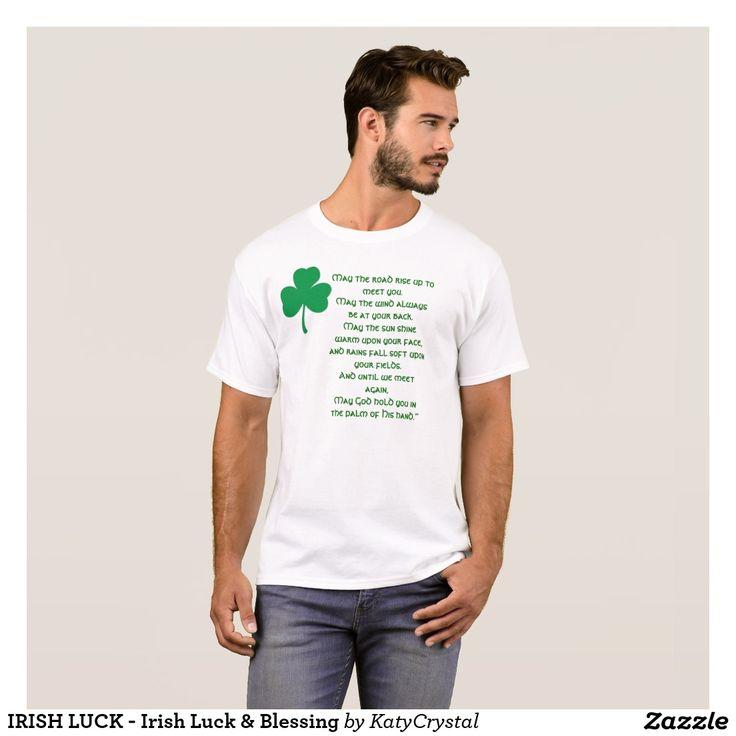 IRISH LUCK - Irish Luck & Blessing T-Shirt