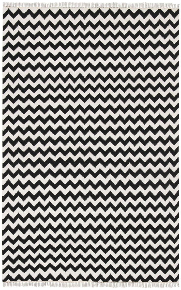 best  chevron area rugs ideas on pinterest  living room area  - hacienda blackivory chevron area rug