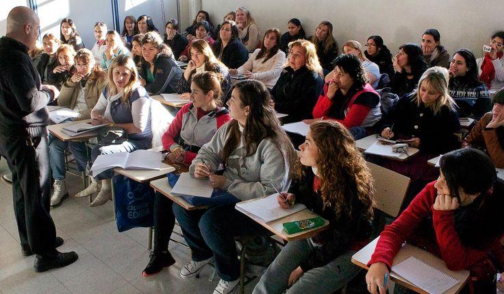 Espacios de actualización docente.