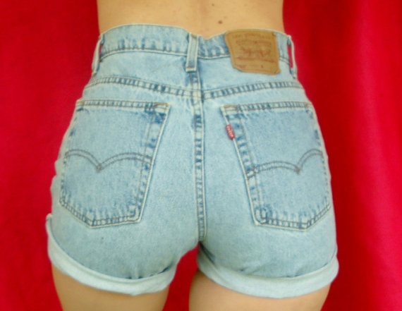 58 best images about high waisted denim on Pinterest | Shorts ...
