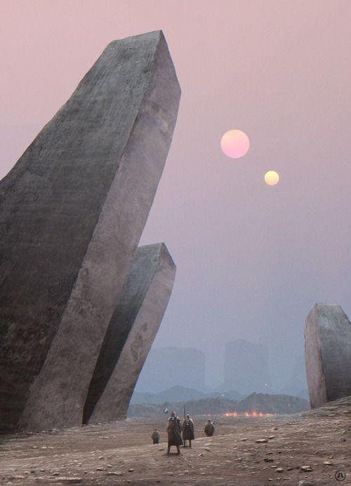 Eldion Passageway byAnthony Scime. future, futurism, futuristic art, fantastic, sci-fi, sci-fi art, painting, fiction