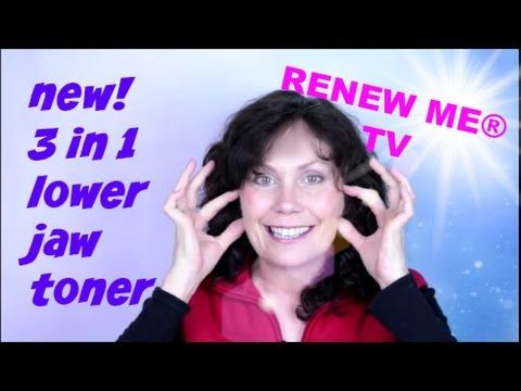 ▶ Face Exercise - 3 in 1 Face Exercise for Your Lower Jaw Line Facial Workout - YouTube