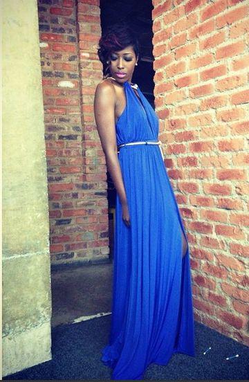 """Miss Vimabi"" is wroing her CINNEL dress"