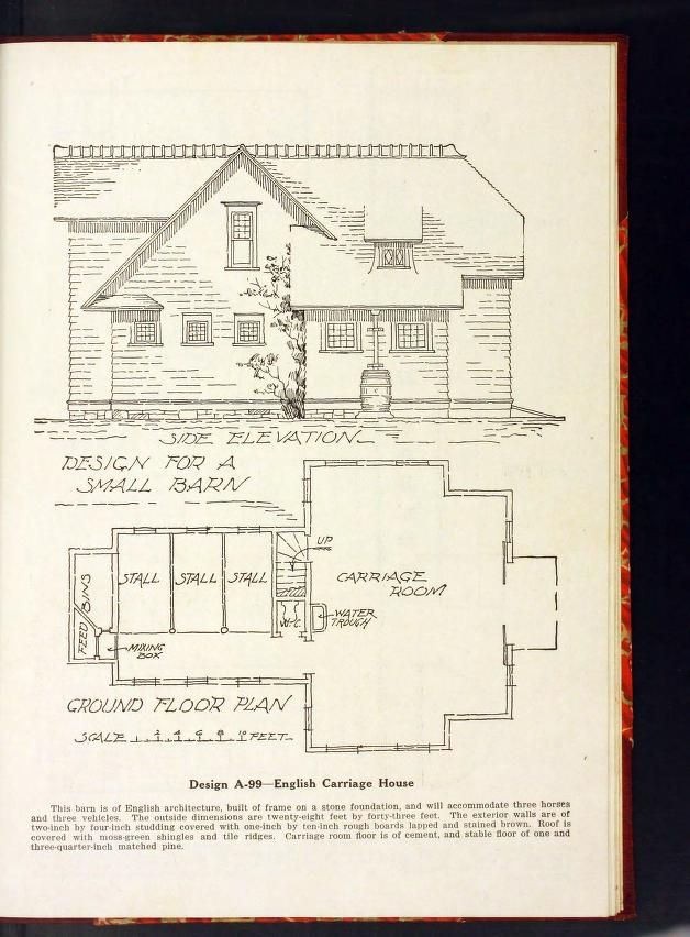 31 best vintage new barn carriage house stable floor for Carriage barn plans
