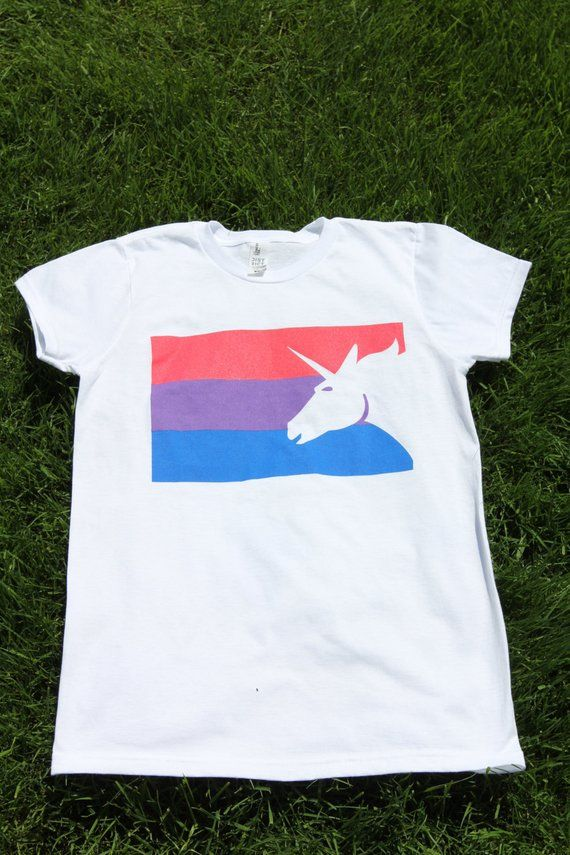 435aa7a75c7 Bisexual Pride Flag T-Shirt - Men Women Gay Pride Awareness Tshirt - Bi Flag  Tee Pink Purple Blue -
