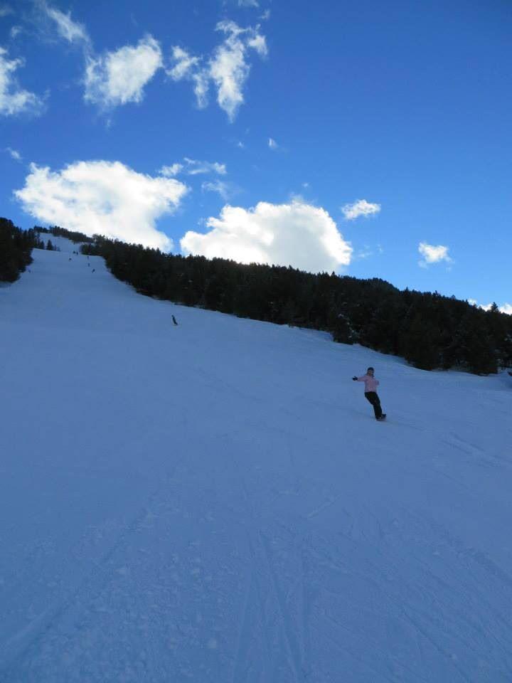 Lush wide runs in Andorra 2014