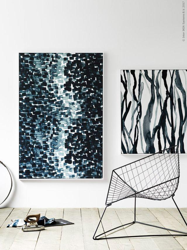 Diy tavlor av textil