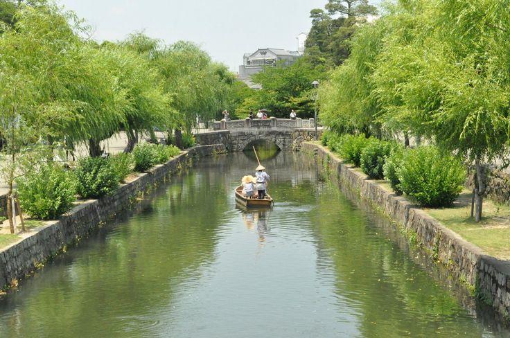 倉敷川  Kurashiki River