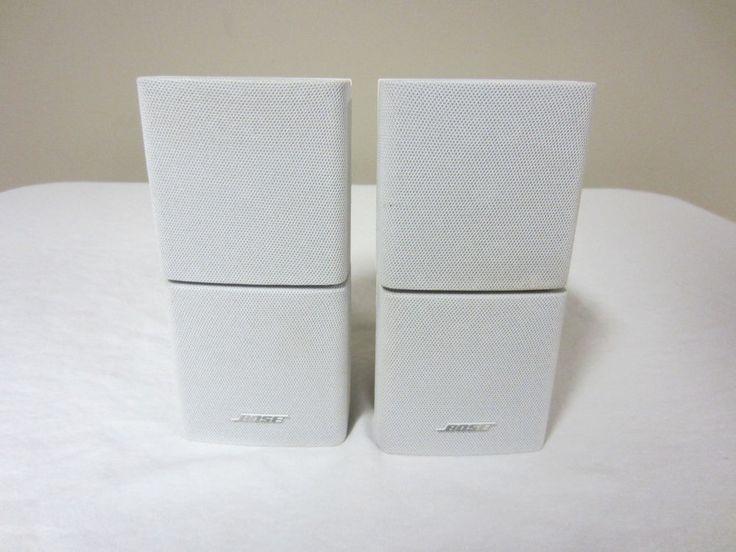 bose double cube speakers. 2 bose double cube speakers lifestyle acoustimass white 28/35/38/48 # bose s