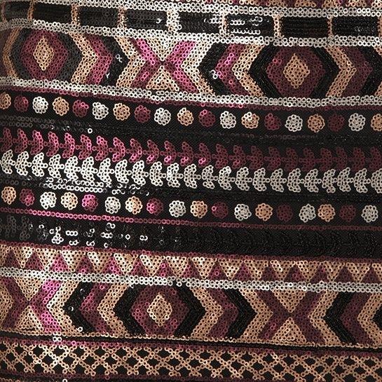 Jupe aztèque sequins multicolore #Exotic #Mix #Pimkie