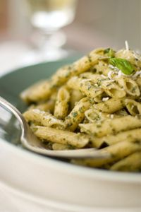 Organic Meal Planning. Dinner: Pasta and Pesto Sauce