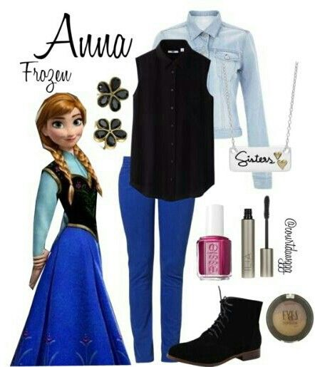 AAAAAAHHHHHHH!!!!! FINALLY AN OUTFIT THAT LOOKS NORMAL THAT I CAN WEAR IN PUBLIC BUT THAT IS INSPIRED BY FROZEN!!!!!!
