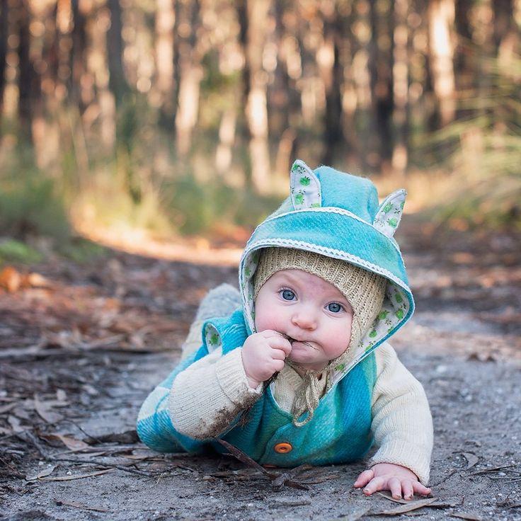 Baby Wild Things Vest - Twig + Tale