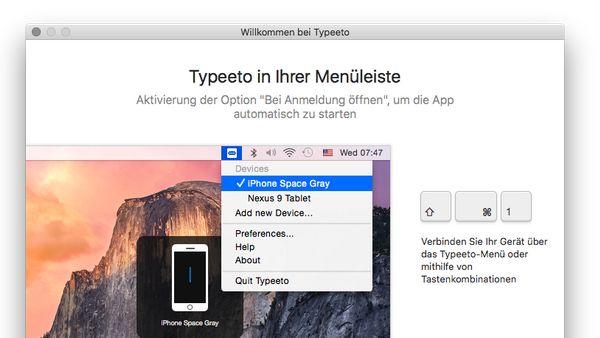 Der Mac als Bluetooth-Tastatur: Typeeto gerade gratis | Mac & i