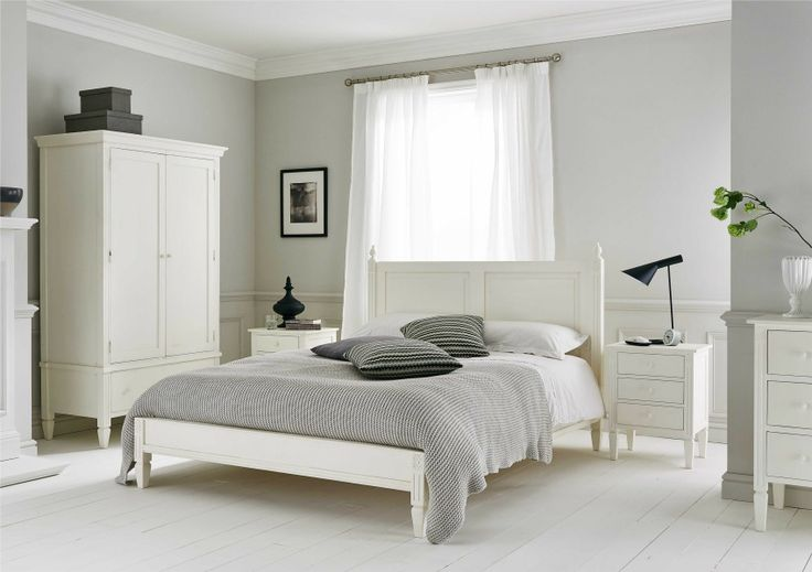 Stockholm Wooden Bed Frame - Painted Wood - Wooden Beds - Beds